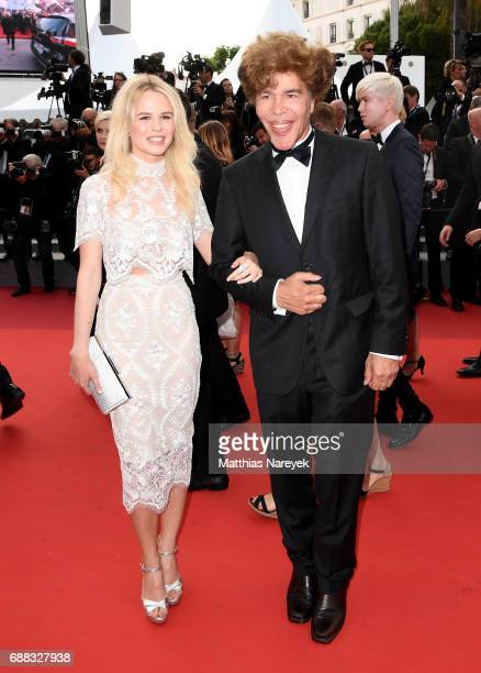 Igor Bogdanov and Julie Jardon attends the 'Twin Peaks' screening during the 70th annual Cannes Film Festival at Palais des Festivals on May 25 2017...