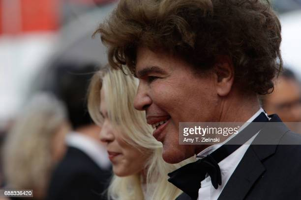 Igor Bogdanov and Julie Jardon attends the Twin Peaks screening during the 70th annual Cannes Film Festival at Palais des Festivals on May 25 2017 in...
