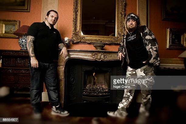 Igor Cavalera and brother Max Cavalera of Brazilian bands Cavalera Conspiracy and Sepultura pose for a portrait in London on January 23 2008