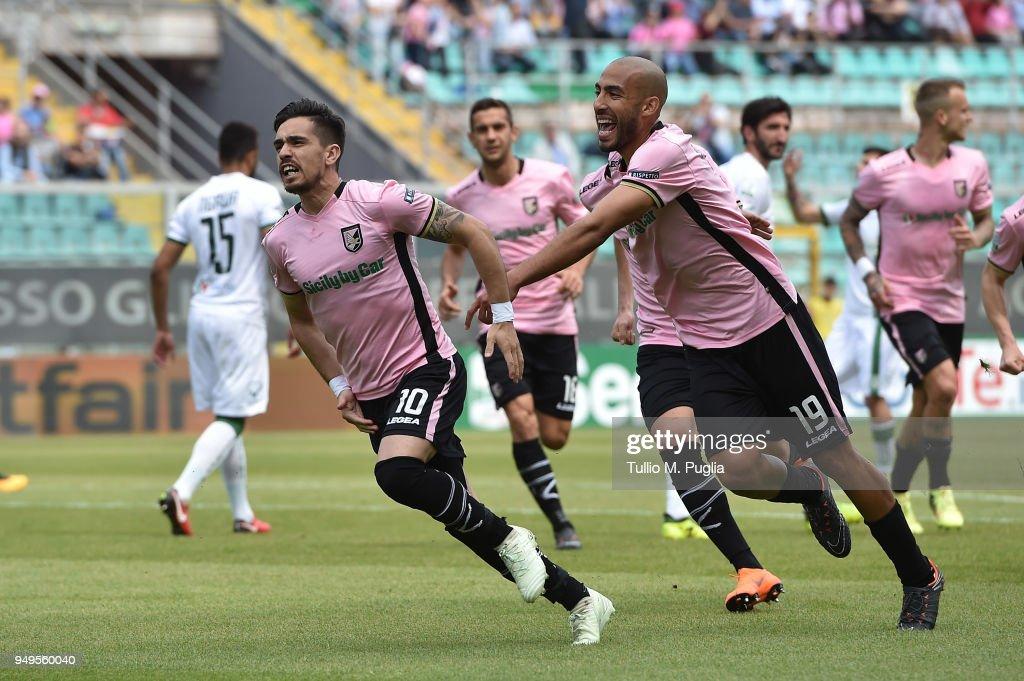 US Citta di Palermo v US Avellino - Serie B