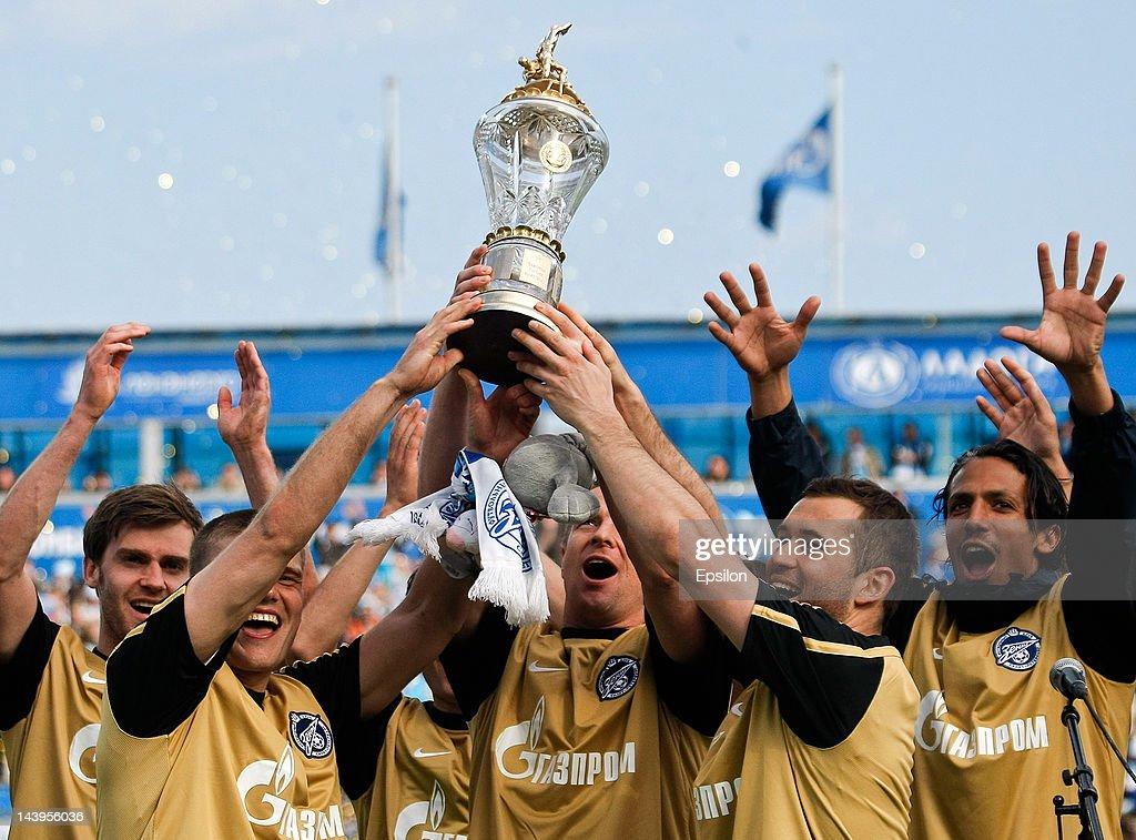 FC Zenit St. Petersburg v FC Spartak Moscow - Premier League
