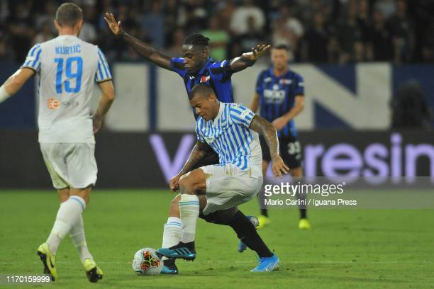 Igor Dos Santos of SPAL in action during the Serie A match between SPAL and Atalanta BC at Stadio Paolo Mazza on August 25, 2019 in Ferrara, Italy.