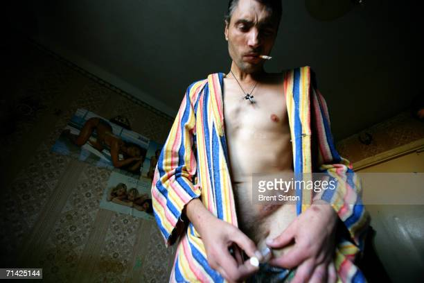 Igor is a former soldier who fought in Afganistan shoots drug into his groin on August 12 2005 in Poltava Ukraine It was there that he began to use...