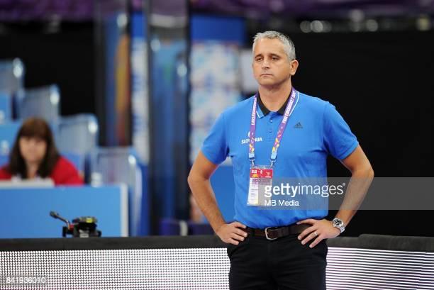 Igor Kokoskov Coach Slovenia during the FIBA Eurobasket 2017 Group A match between Finland and Slovenia on September 2, 2017 in Helsinki, Finland.