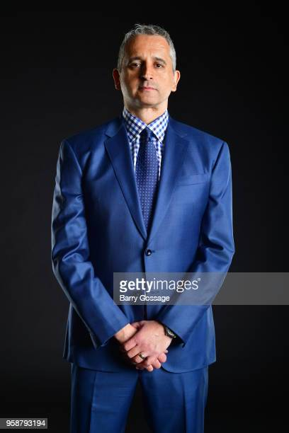 Igor Kokoskov of the Phoenix Suns poses for a portrait at a press conference on May 14 at Talking Stick Resort Arena in Phoenix Arizona NOTE TO USER...