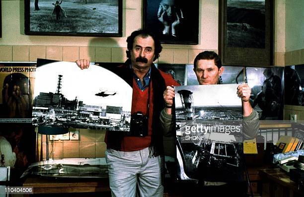 Igor Kostin who took the first pictures of the Chernobyl Disaster from a helicopter during April 1986 in ChernobylUkraine