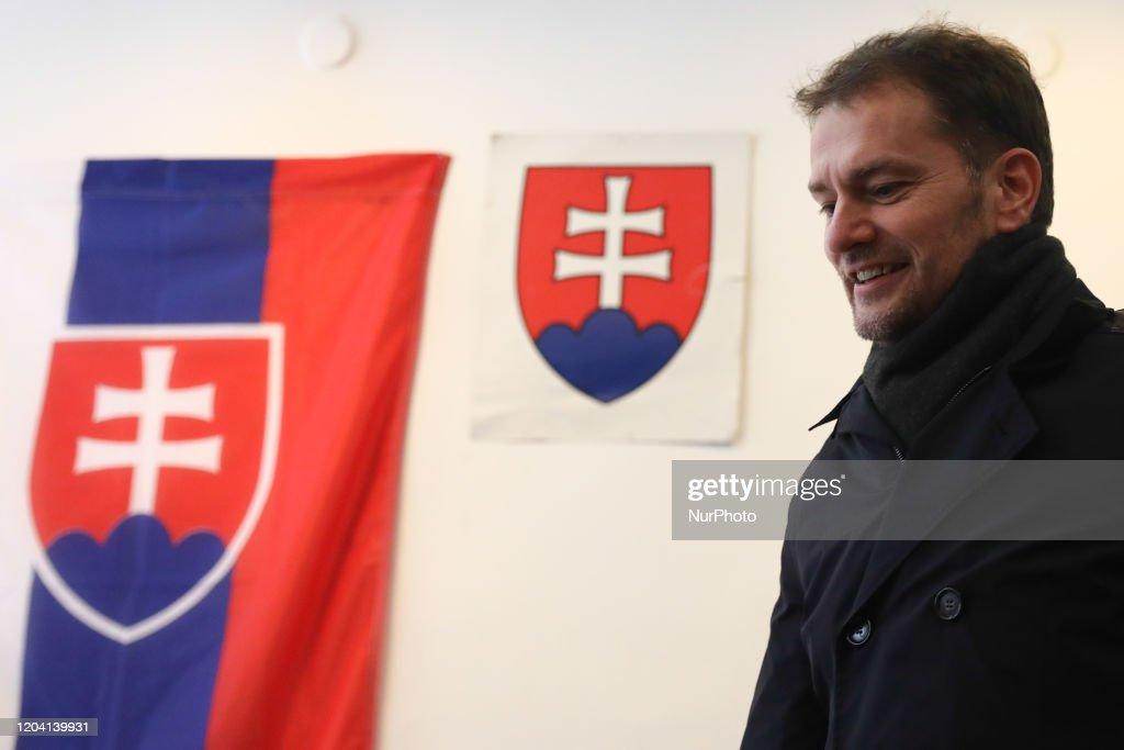 Parliamentary Election In Slovakia : News Photo