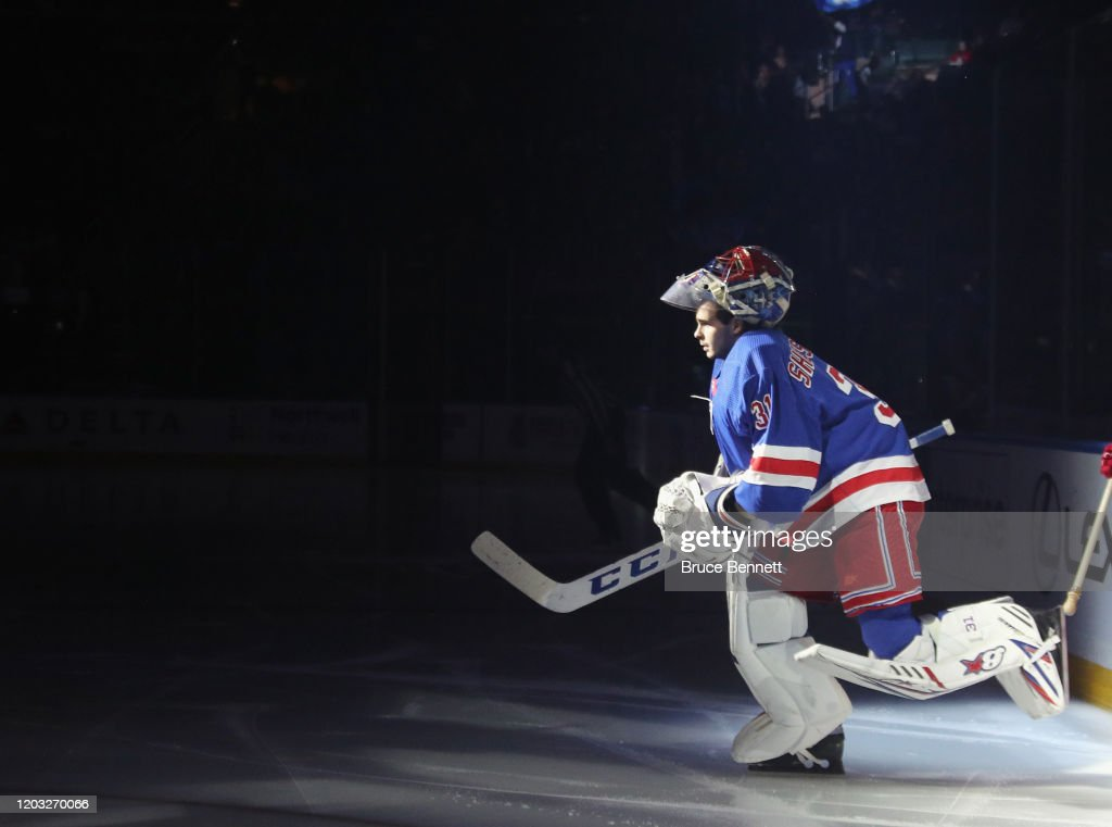 Detroit Red Wings v New York Rangers : News Photo