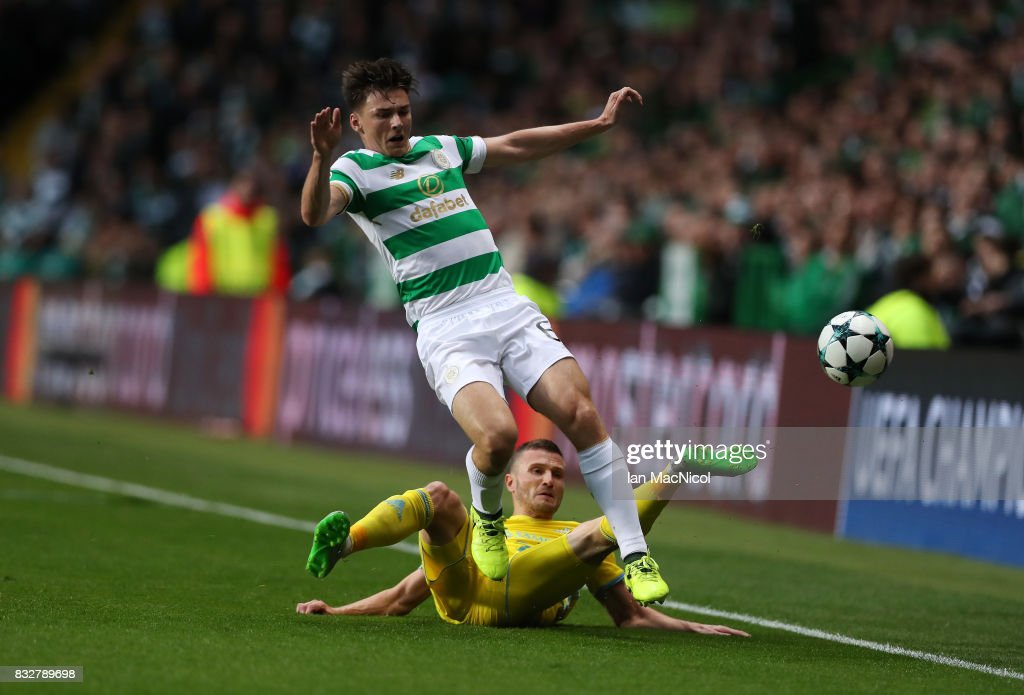 Celtic FC v FK Astana - UEFA Champions League Qualifying Play-Offs Round: First Leg : News Photo
