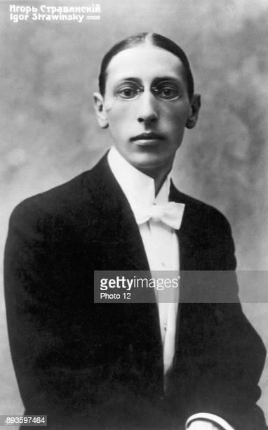 Igor Stravinsky Russianborn american composer as a young man Photo12/UIG via Getty Images