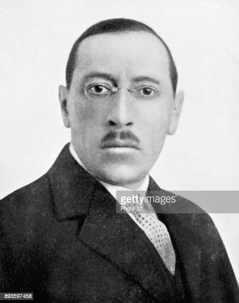 Igor Stravinsky Russianborn american composer