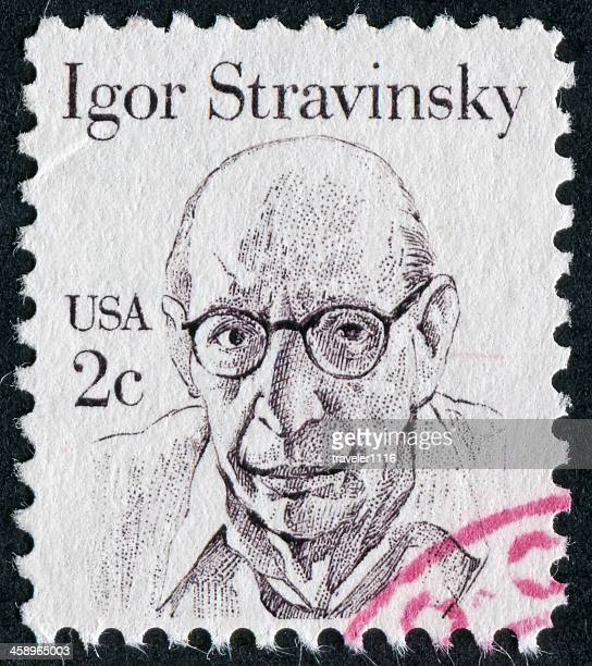 Igor Stravinsky Stamp