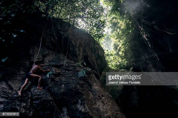 igotann cave (talisay, cebu, philippines) - joemill flordelis stock pictures, royalty-free photos & images