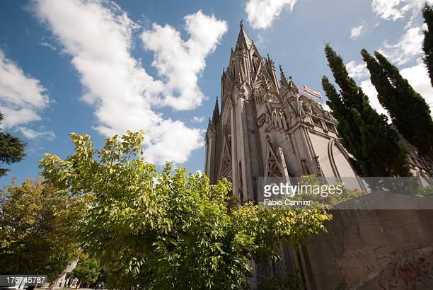 igreja de las carmelitas - montevideo stock pictures, royalty-free photos & images