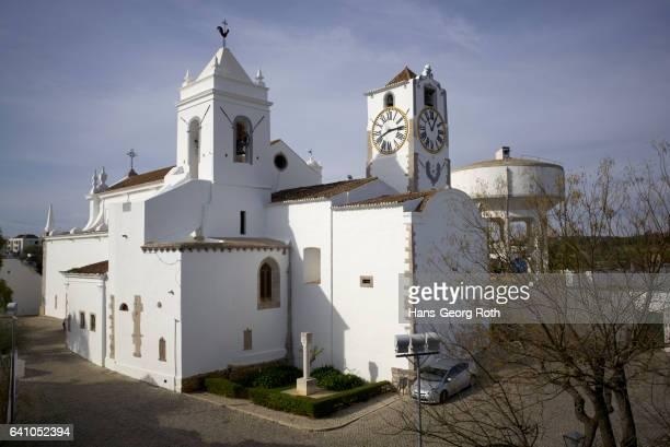 igreja de santa maria de castelo, church of santa maria - tavira imagens e fotografias de stock