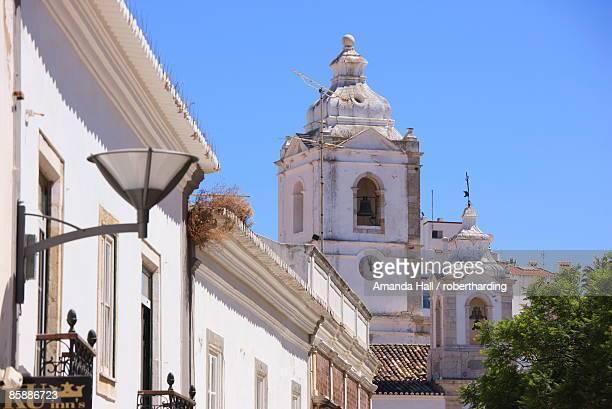 Igreja de Santo Antonio, 18th century Baroque church, Lagos, Algarve, Portugal, Europe