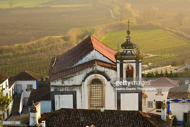 igreja de sao pedro - leiria district stock photos and pictures