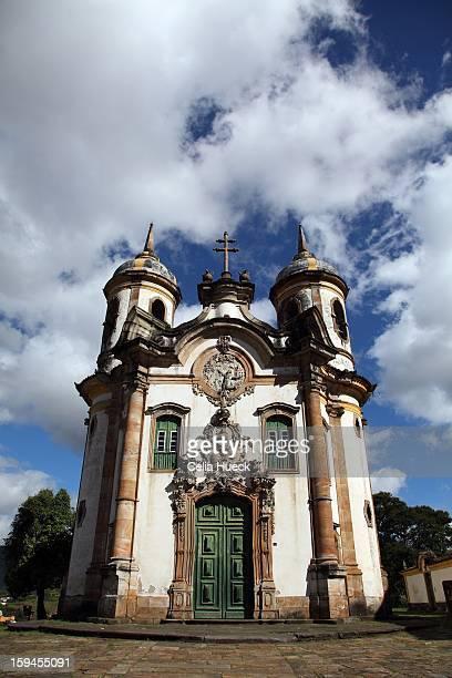 igreja de são francisco de assis - ouro preto - assis ストックフォトと画像