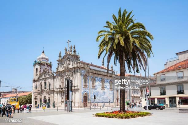 igreja do carmo, porto, portugal - portugal stock pictures, royalty-free photos & images