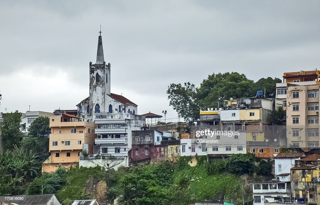 Igreja no Morro - NS da Providencia : Foto de stock