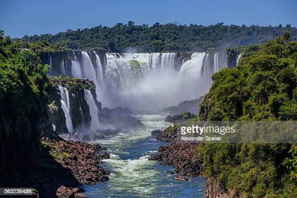 Iguacu falls, Devil's throat