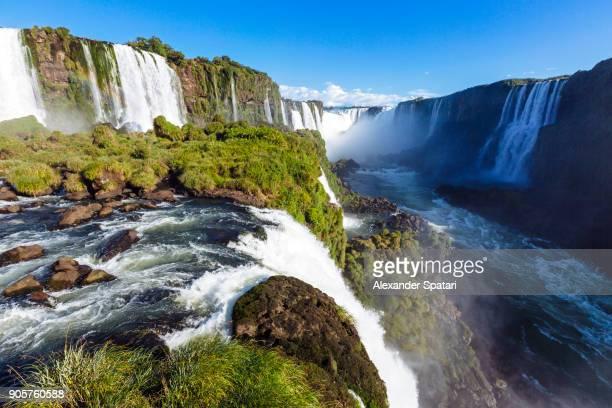 Iguacu waterfall and Devil's Throat, Brazil