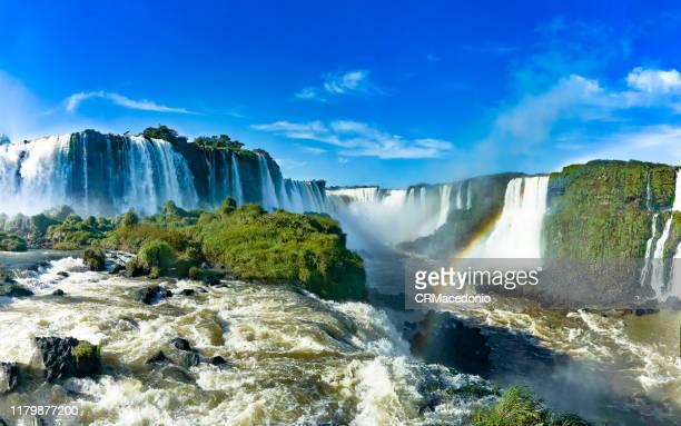 iguazú falls or iguaçu falls. - イグアス滝 ストックフォトと画像