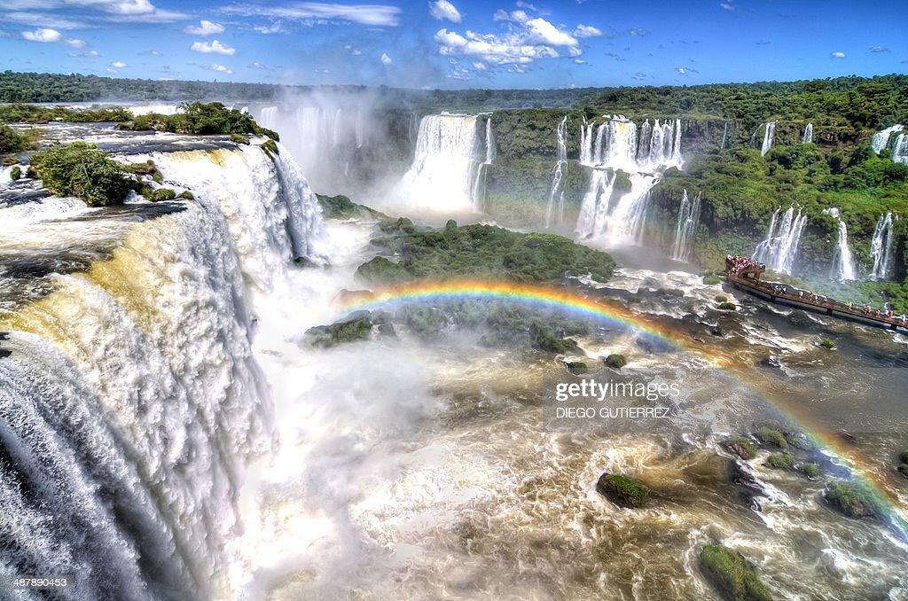 Iguazú waterfalls : Stock Photo