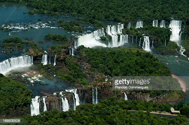 "Iguazu Falls are located on the border of the Brazilian State of Paraná and the Argentine Province of Misiones. The name ""Iguazu"" comes from the..."