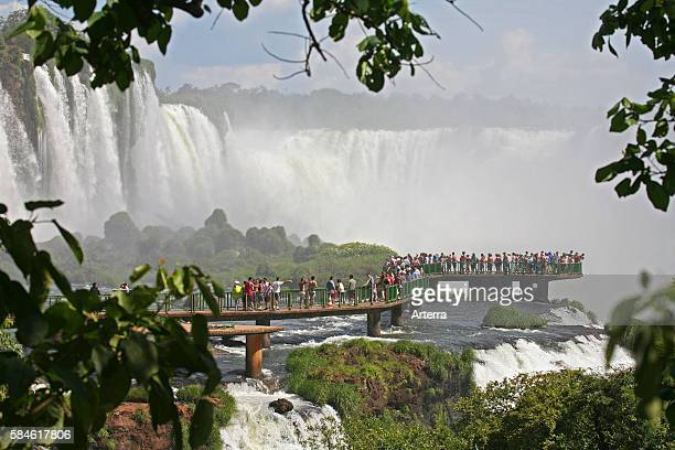 Iguazu Falls / Iguassu Falls / Iguacu Falls on the border of Brazil and Argentina