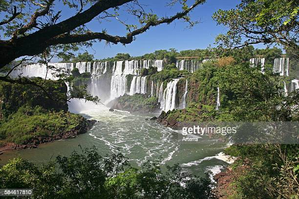 Iguazu Falls / Iguassu Falls / Iguacu Falls seen from Argentina