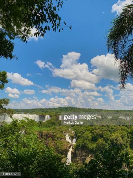 """iguazu falls (cataratas do iguaçu, brazil) - """"markus daniel"""" imagens e fotografias de stock"""