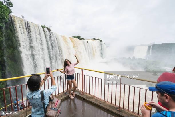 iguazu falls (brazil) - iguacu falls stock pictures, royalty-free photos & images