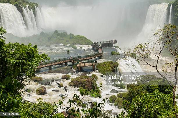 iguazu waterfall - parana state stock pictures, royalty-free photos & images