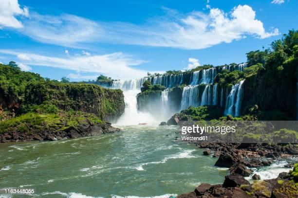 iguazu waterfalls, argentina, south america - iguacu falls stock pictures, royalty-free photos & images