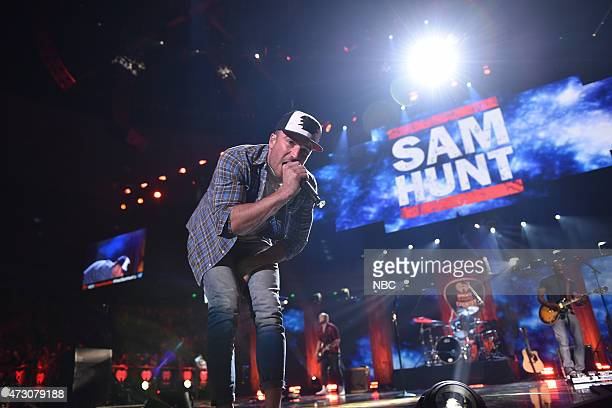 iHEARTRADIO COUNTRY MUSIC FESTIVAL 2015 iHeartRadio Country Festival Pictured Sam Hunt