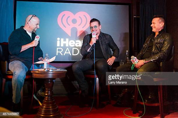 iHeartRadio Icons Live U2 The Making of Songs of Innocence'an exclusive LIVE broadcast event featuring an intimate interview with Bono and Larry...