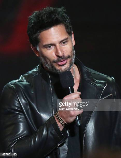 iHEARTRADIO MUSIC AWARDS Pictured Actor Joe Manganiello speaks onstage during the iHeartRadio Music Awards held at the Shrine Auditorium on May 1 2014