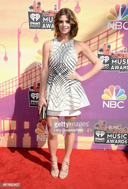 iHEARTRADIO MUSIC AWARDS Pictured Actress Ashley Greene arrives at the iHeartRadio Music Awards held at the Shrine Auditorium on May 1 2014