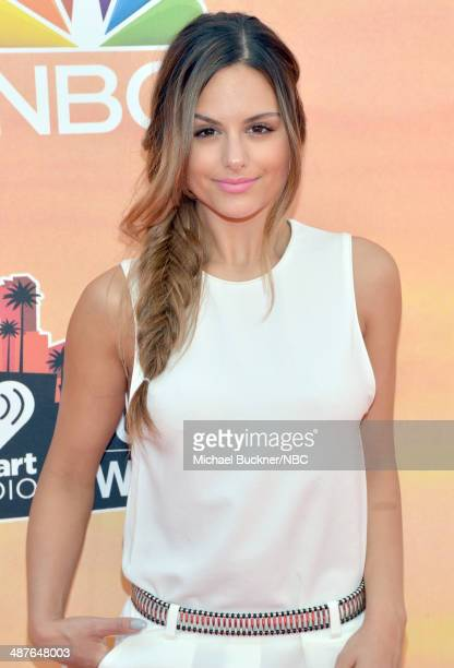 iHEARTRADIO MUSIC AWARDS Pictured Recording artist Pia Toscano arrives at the iHeartRadio Music Awards held at the Shrine Auditorium on May 1 2014