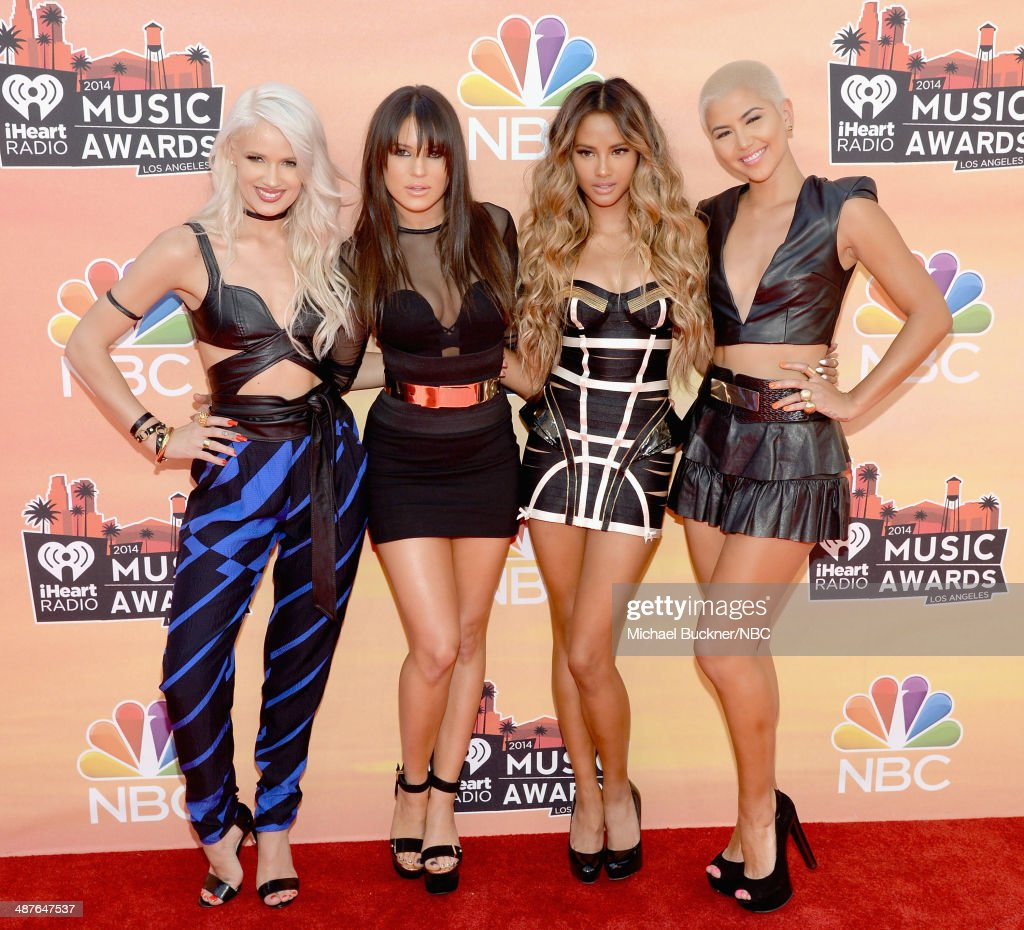 """NBC's """"2014 iHeartRadio Music Awards"""" - Arrivals Behind the Line"""