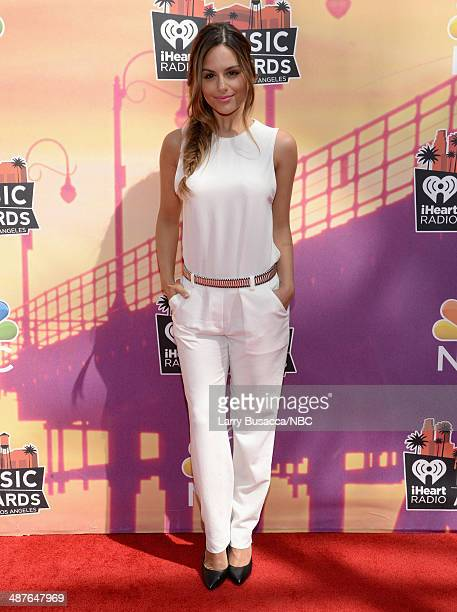 iHEARTRADIO MUSIC AWARDS Pictured Singer Pia Toscano arrives at the iHeartRadio Music Awards held at the Shrine Auditorium on May 1 2014