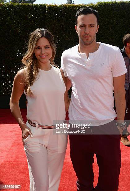 iHEARTRADIO MUSIC AWARDS Pictured Singers Pia Toscano and Jared Lee arrive at the iHeartRadio Music Awards held at the Shrine Auditorium on May 1 2014