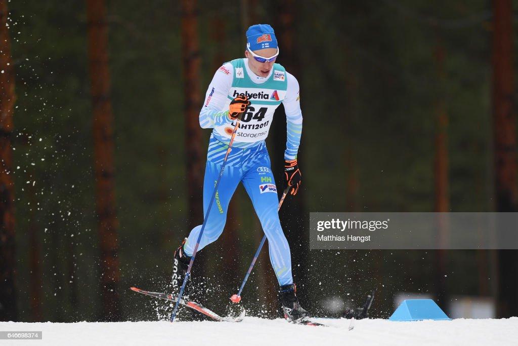 Men's 15KM Cross Country -  FIS Nordic World Ski Championships : News Photo