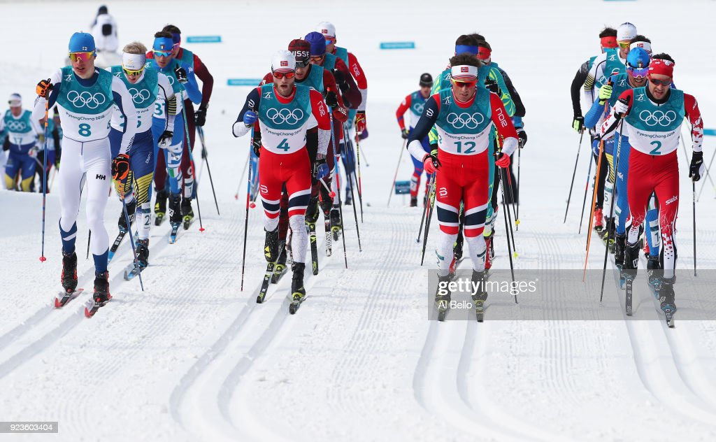 Cross-Country Skiing - Winter Olympics Day 15 : News Photo