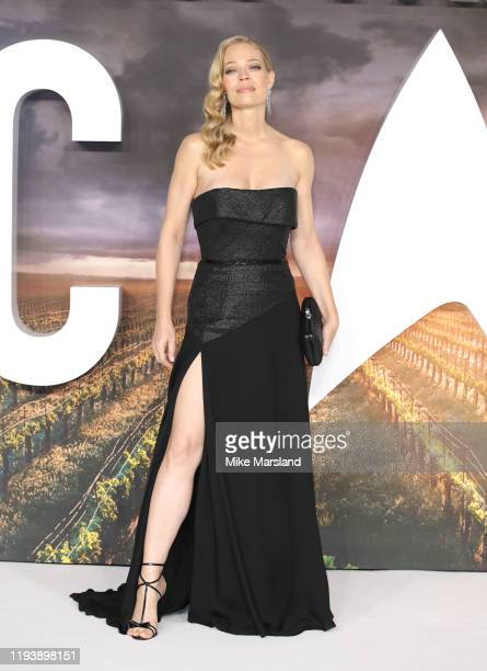 "IJeri Ryan attends the ""Star Trek Picard"" UK Premiere at Odeon Luxe Leicester Square on January 15, 2020 in London, England."