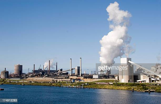 Ijmuiden and the North Sea Canal, Netherlands