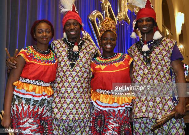 Ijo Vudu Dance International attend the 5th Annual Black Arts Innovation Expo at Toronto's Arcadian Court on February 21 2019 in Toronto Canada