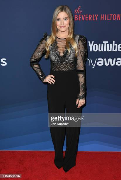 IJustine attends the 9th Annual Streamy Awards at The Beverly Hilton Hotel on December 13, 2019 in Beverly Hills, California.