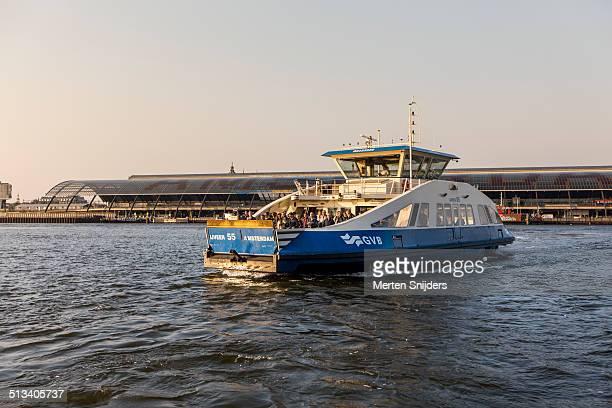 GVB Ijveer / Ferry in Amsterdam